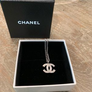 Vintage Silver Chanel Necklace RARE